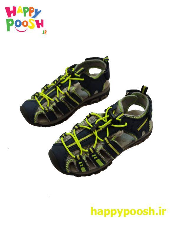 کفش تابستانی اورجینال ساخت آلمان رنگ مشکی و سبز