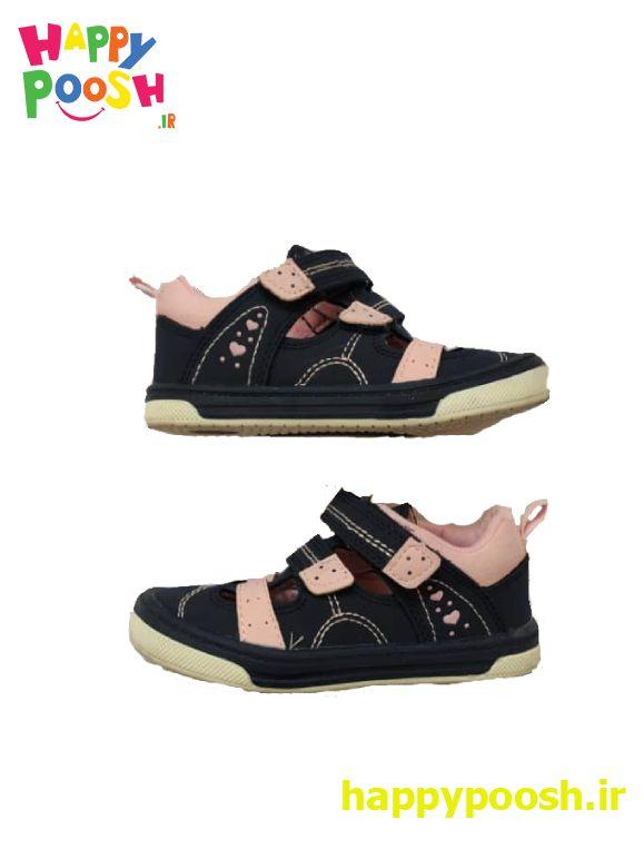 کفش جلوبسته تابستانی اورجینال ساخت آلمان رنگ صورتی و سرمهایی