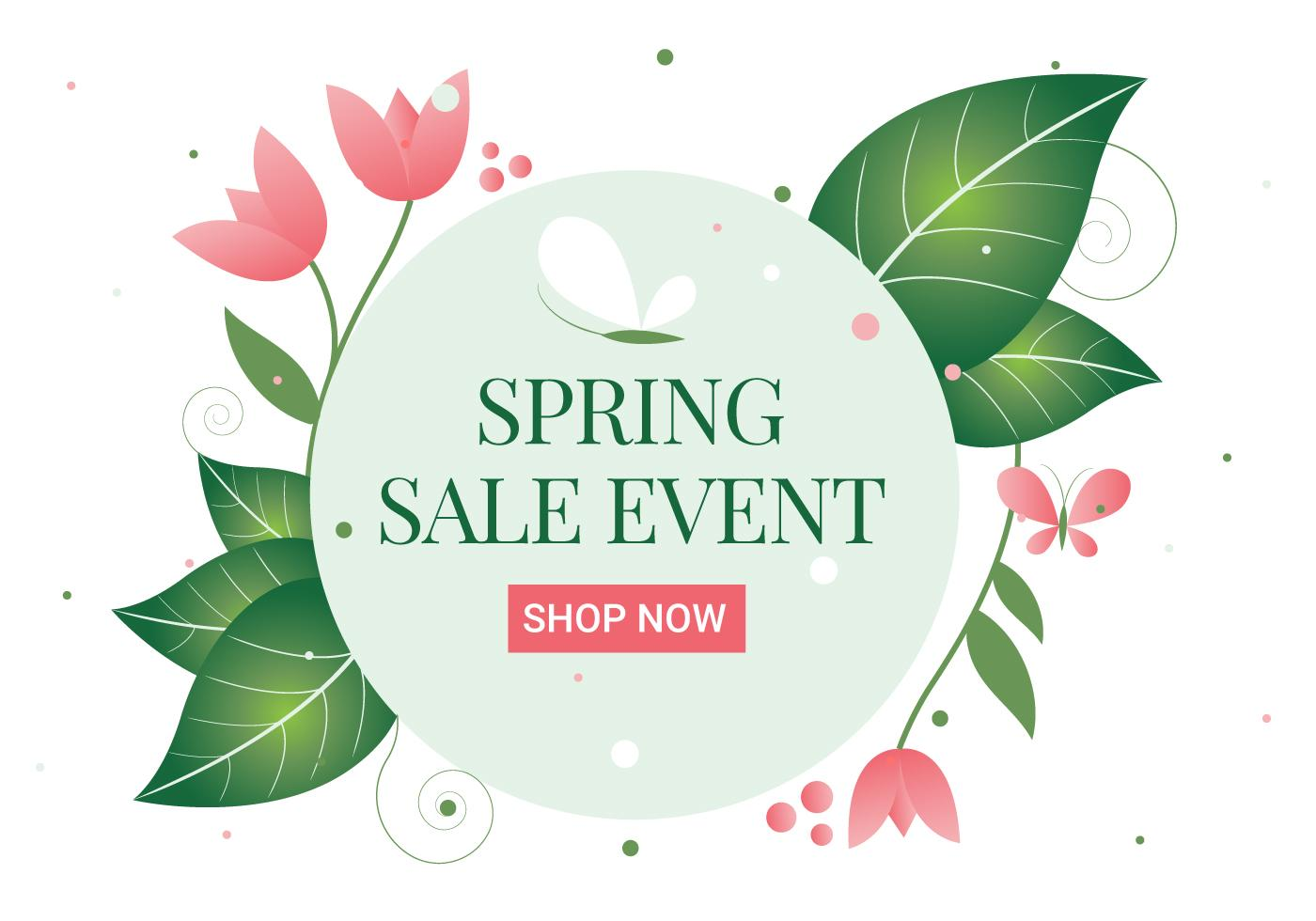 spring sale event