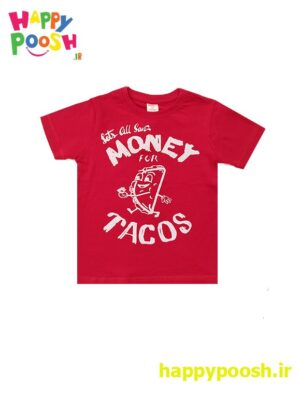 T-shirt-red-money tacos